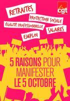 5 octobre, Beauvais - Manifestation départementale pour nos salaires, nos emplois et nos conditions de travail et d'études
