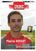 Tract de campagne du Front de gauche dans la 2e circonscription de l'Oise - 1er mai 2012