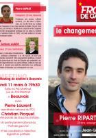 Tract de campagne du Front de gauche - 2e circonscription, 15 février 2013