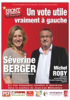 Tract de campagne du Front de gauche dans la 4e circonscription de l'Oise - 12 mai 2012