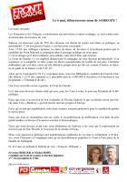 Appel de Séverine Berger et Michel Roby-« 6 mai, virez Sarkozy » - 25 avril 2012