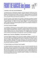 Tract jeunes de Géraldine Minet et Sébastien Sauvage - 23 mai 2012