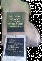 Léon Durville, Arthur Lefebvre, Émile Michaud, Corentin Cariou, Baptiste Réchossière, Pierre Rigaud, six résistants fusillés au bois des Zouaves à Moulin-sous-Touvent en 1942