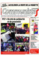 Journal CommunisteS n°646 du 24 août 2016