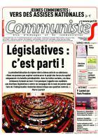 Journal CommunisteS n°661 du 14 décembre 2016