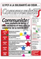 Journal CommunisteS n°662 du 21 décembre 2016