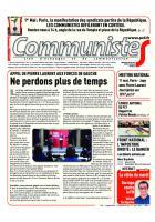 Journal CommunisteS n°678 27 avril 2017