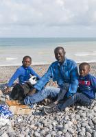 Journée à la mer : « Il faut du bonheur et rien d'autre »-Photos de Claude - Dieppe, 18 août 2018