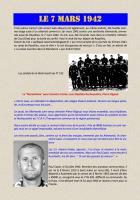 Les otages communistes de Royallieu fusillés à Moulin-sous-Touvent en 1942 - C-Le 7 mars 1942-Baptiste Réchaussière et Pierre Rigaud  (document transmis par Jean-Michel Vicaire)