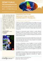 Débat public PPE : cahier d'acteur présenté par le Parti communiste français