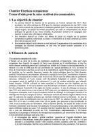 Chantier élections européennes - Trame d'aide pour la mise en débat des communistes