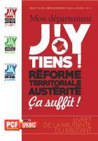 Guide militant - Départementales 2015