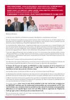 Appel à voter des conseillers départementaux Jean-Pierre Bosino et Catherine Dailly et de conseillers municipaux de Saint-Leu-d'Esserent, pour la liste conduite par Ian Brossat - Élections européennes, 26 mai 2019