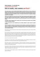 Appel du Front de gauche « Le progrès humain contre la finance - Unis et soudés, nous sommes une force » - Élection régionale Nord-Pas-de-Calais-Picardie, 6 et 13 décembre 2015