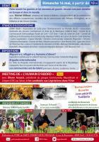 Flyer de l'édition 2017 de la Fête de la Paix - PCF Oise, 14 mai 2017