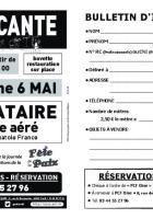 Flyer « Brocante de la Fête de la Paix » - PCF Oise, 6 mai 2018