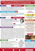 Flyer de la 14e édition de la Fête de la Paix - PCF Oise, 5 & 6 mai 2018