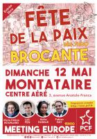 Flyer « Fête de la Paix » - PCF Oise, 12 mai 2019