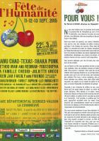La Fête de l'Humanité 2015 - Le 8 pages