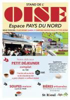 Flyer « Le stand de l'Oise à la Fête de l'Huma » - La Courneuve, 13 au 15 septembre 2019