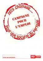 ARGUMENTAIRE - Campagne pour l'emploi