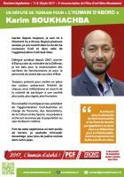 Tract de campagne de Karim Boukhachba aux Législatives 2017 - 3e circonscription de l'Oise, 3 mars 2017
