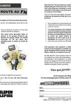 Tract « Dimanche 13 décembre, barrer la route au FN » - PCF Oise, 9 décembre 2015