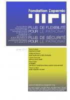 Accord de «sécurisation » de l'emploi : dossier de la fondation Copernic - Janvier 2013