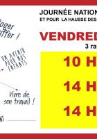 14 décembre, Beauvais, Compiègne & Creil - Journée d'action à l'appel de la CGT