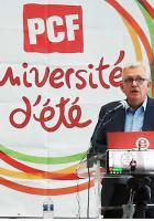 Allocution de Pierre Laurent à l'Université d'été du PCF - Angers, 25 août 2018