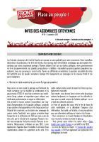 Infos des assemblées citoyennes n° 19 - Septembre 2012