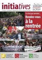 Initiatives n°100, journal du groupe communiste, républicain et citoyen au Sénat - Été 2016