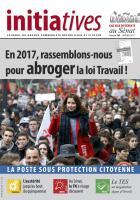 Initiatives n° 102, journal du groupe Communiste, Républicain et Citoyen au Sénat - Janvier 2017