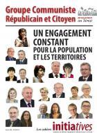 Les cahiers Initiatives - Un engagement constant pour la population et les territoires - Février 2017