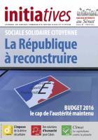 Initiatives n° 97, journal du groupe communiste, républicain et citoyen au Sénat - Janvier 2016