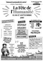 Tract « Journée à la mer au Tréport - Fête de l'Humanité » par secteur de l'Oise-Verso-vN&B - 19 août 2017