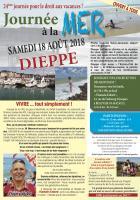 Tract « Journée à la mer » - PCF Beauvais, 3 juillet 2018