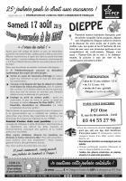 Tract « 25e édition de la Journée à la mer pour le droit aux vacances » - PCF Oise, 17 août 2019