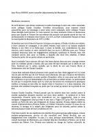 Hommage de Jean-Pierre Bosino à Viviane Claux - 7 septembre 2018