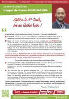 Tract « L'appel de Karim Boukhachba :