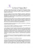 L'association Bernard de la Sala-Espace Marx-La charte d'Espaces Marx