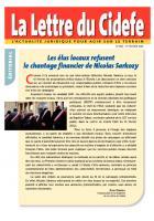 Présidentielle 2012 - Appel aux volontaires pour être présents dans les bureaux de vote - La lettre du Cidefe