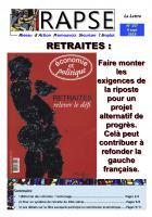 La Lettre du Rapse n° 157 « Retraites » - 9 septembre 2019