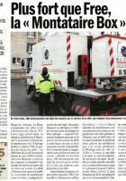 Plus fort que Free, la « Montataire Box» ! - L'Humanité, 11 janvier 2012