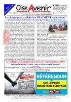 Oise Avenir n° 1287 - 31 août 2012