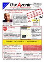 Oise Avenir n° 1291 - 30 novembre 2012