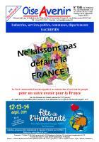 Oise Avenir n° 1306 du 27 juin 2014