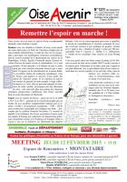 Oise Avenir n° 1311 du 4 février 2015