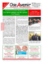 Oise Avenir n° 1313 du 3 avril 2015