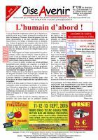 Oise Avenir n° 1316 du 28 août 2015
